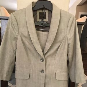 Light Tan, Fully Lined Suit by The Limited.